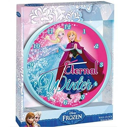 Kids Euroswan Disney - Frozen - Reloj de Pared 24 cm