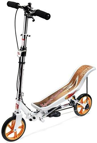Space Scooter - Patinete, color blanco (X580WHITE)
