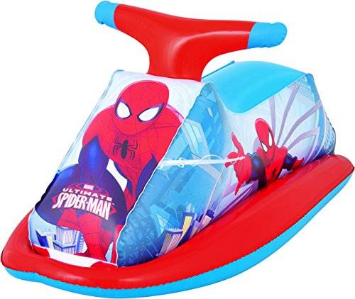 Bestway 98012 Pool - juguetes inflables (Pool, Multi, Vinilo, Spiderman, 890 x 460 mm, Full color box)