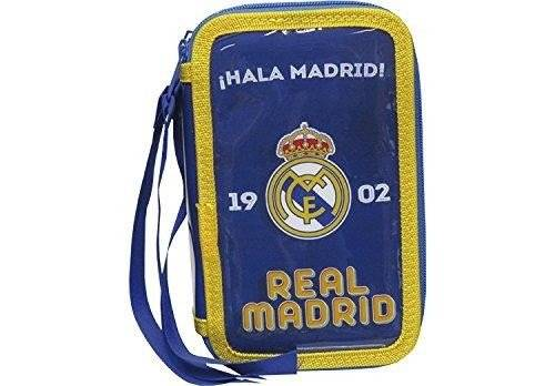 Real Madrid Plumier 3 pisos (CYP Imports EP-103-RM)