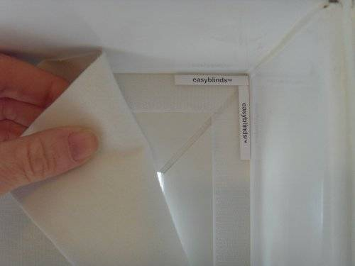 easyblackout blackout blind kit, Size 1, WHITE (also available in cream)