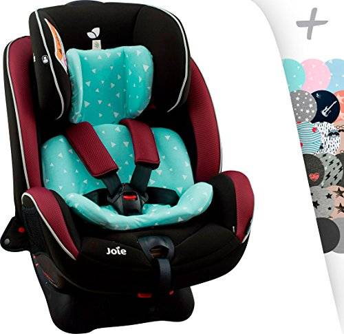 JANABEBE Funda para reductor Joie Stages, Every Stages Janabebé® (MINT SPARKLES)