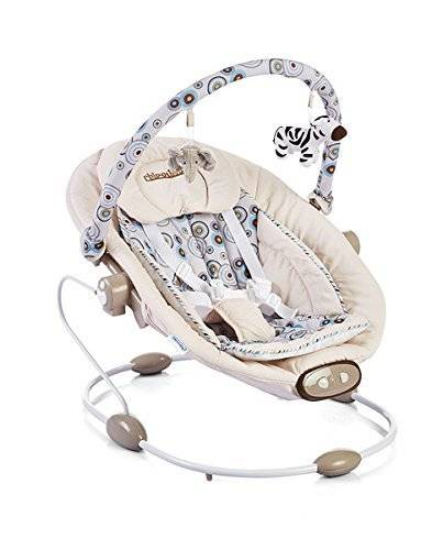 Chipolino Electric Baby Swing and Bouncer Paradise Beige by Chipolino