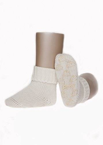 Steiff Joven Tope Calcetines ABS Tope 25022 blanco Wollweiß Talla:110-16