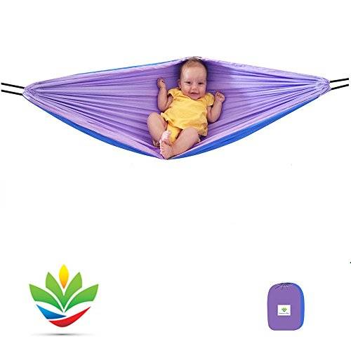 Hammock Bliss - Sky Baby Hammock - The Idea Solution For Putting Baby To Sleep - Use In The Crib Or On The Go