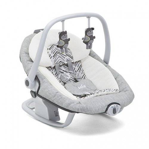 Joie  - Columpio  serina 2 en 1 abstract arrows rayas gris