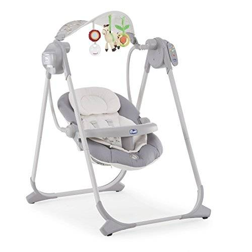 Chicco Polly Columpio Hasta 07079110490000 bebé swing, plata