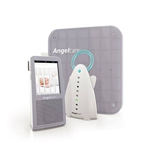 Angelcare Video, Movement and Sound Monitor, Gray/white by Angelcare