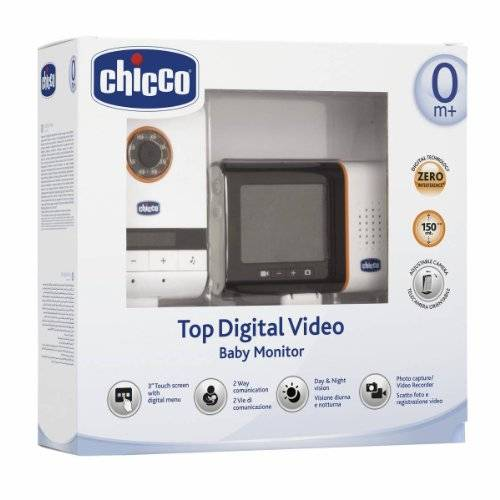 Chicco Top Digital Video - Vigilabebés digital
