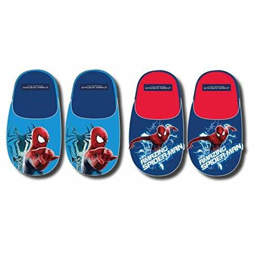 Disney Zapatillas pantuflas Spiderman Color azul