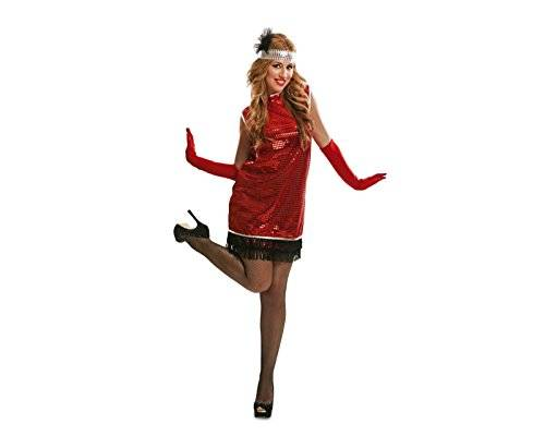 My Other Me - Disfraz Charleston para mujer, M-L, color rojo (Viving Costumes 200512)