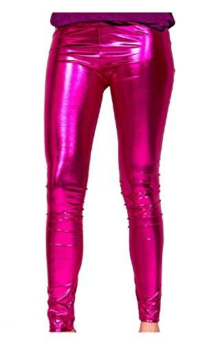 Folat Leggings fucsia Metálico T.L/XL Carnaval Carnaval