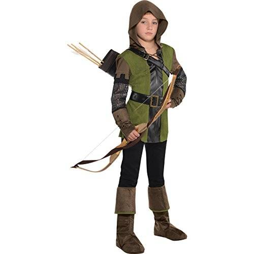 Amscan Robin Hood Boys Fancy Dress Prince of Thieves Book Day Kid Childrens Costume New (Small Ages 6-8 Years)