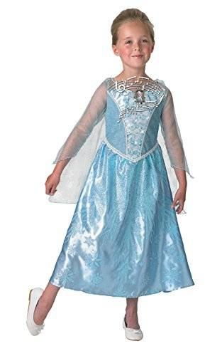 Rubies De Disney Frozen Elsa Musical & Light Up - Childrens Disfraz - Pequeño - 117cm