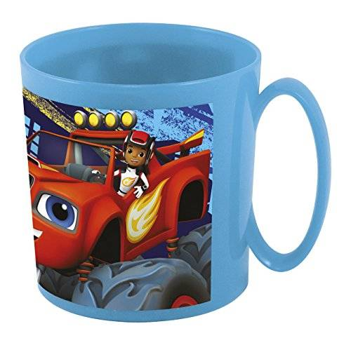 Monster Cable Blaze And The Monster Machine - Taza microondas 36 cl (Stor 85904)