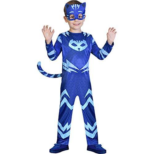 Amscan Childrens Size PJ Masks Catboy Costume Small 3-4 years