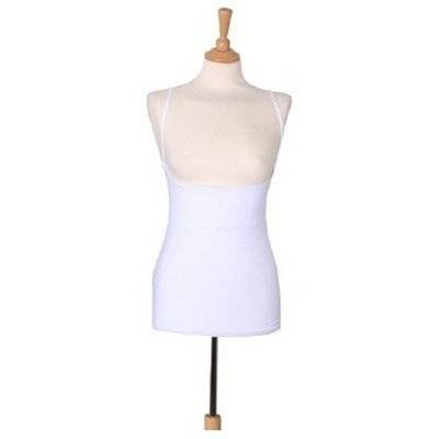 Breastvest - Camiseta para embarazada (talla 42/L), color blanco