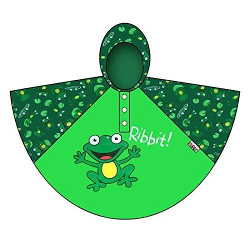 Bugzz De poncho Stuff Bugzz Rain infantil verde frog Talla:one size suitable for ages 3-6 years