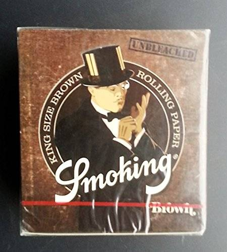 Smoking King, papel para cigarrillos x50 33 papeles marrónes
