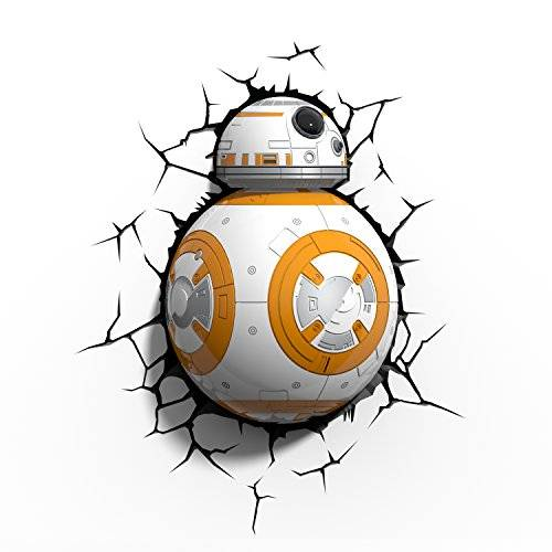 Disney 3DLIGHTFX - Lámpara 3D SW BB-8