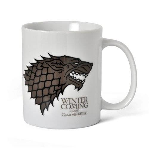 SD Toys - Taza cerámica con diseño Winter Is Coming Stark (SDTSDT27301) SD Toys SDTSDT27301 - Taza cerámica con diseño Winter Is Coming Stark (SDTSDT27301) - Taza Winter is Coming Stark