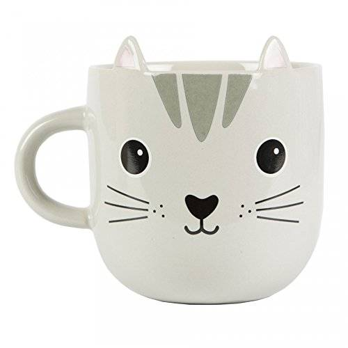 Sass & Belle Cat Blanco - Taza