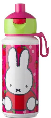 Rosti Mepal 107510065206 Pop Up - Cantimplora, diseño Miffy Fruit