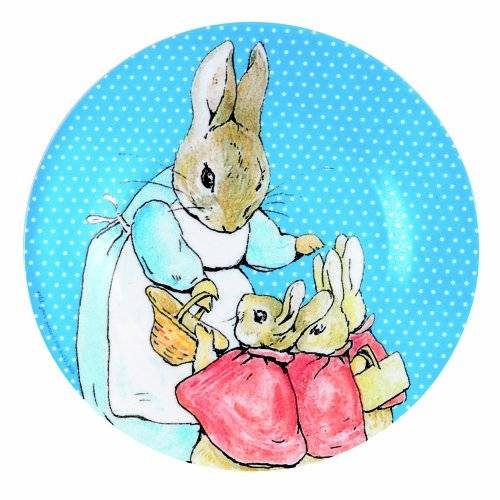 Peter Hase Niños bowl de melamina Beatrix Potter
