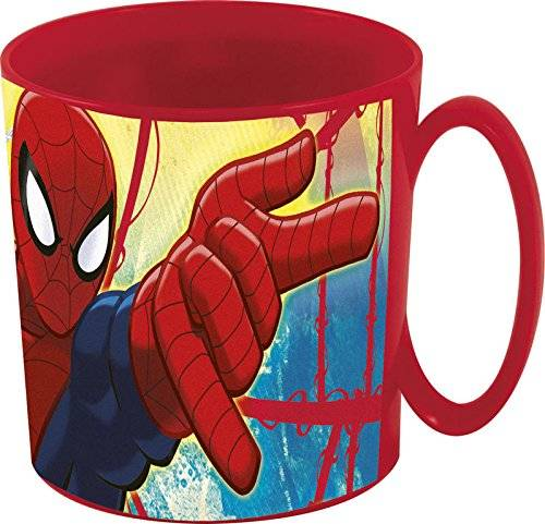 Spider-Man Spiderman - Taza plastico micro 350 ml (Stor 33404)