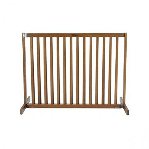 Dynamic Accents Amish Handcrafted Tall Kensington 1 Panel Free Standing Gate Finish: Artisan Bronze, Size: Small by Dynamic Accents