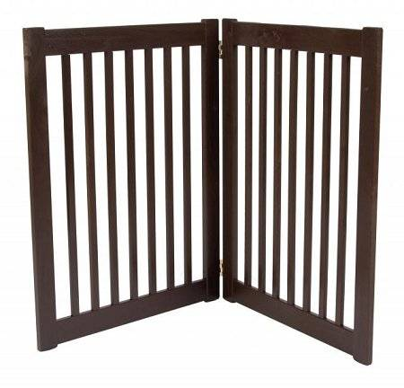 Dynamic Accents 32 in. 2 Panel Free Standing Gate by Dynamic Accents