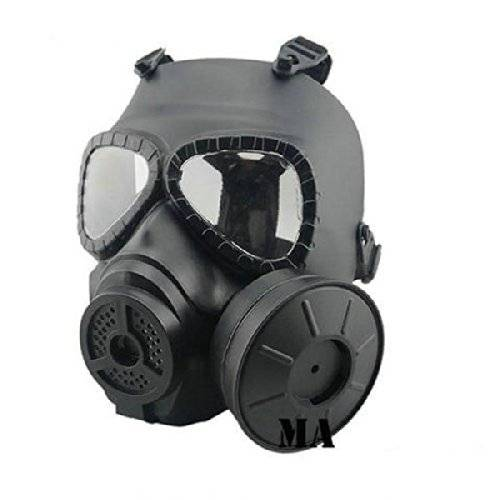 Coofit Tactical Airsoft Game Face Seguridad Protección Máscara Guardia Toxic CS Gas Mask