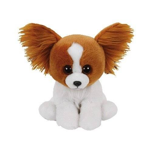 TY - Beanie Babies Barks, perro, 15 cm, color marrón (United Labels Ibérica 41206TY)