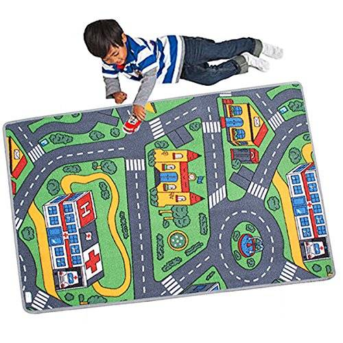 Cavendish Trading Playmat Road Map for Children 120 x 80 cm Design Selected at Random by Le coin shopping