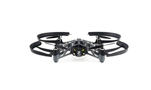 Parrot PF723100AA - Minidrone Airbone Night Swat, color negro