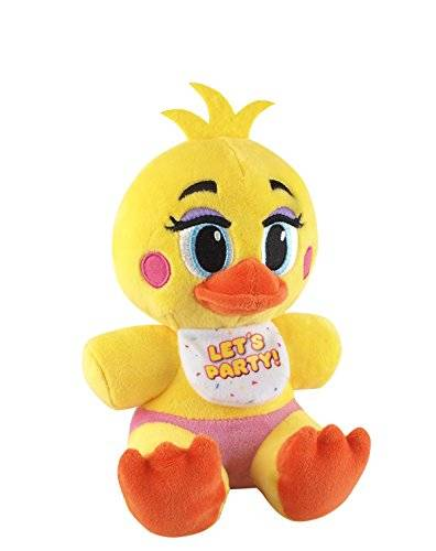 Funko Five Nights at Freddy's Toy Chica Plush, 6inch