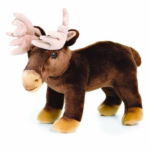 Nat and Jules Plush Toy, Standing Moose by Nat and Jules