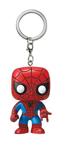 Funko - Porte Clé Marvel - Spider-Man Pocket Pop 4cm - 0849803049836