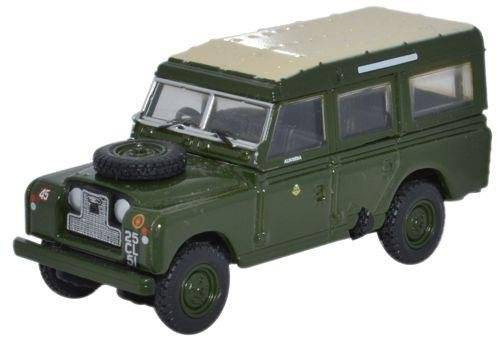 Oxford Diecast Land Rover Series II LWB Station Wagon 44th Home Counties Infantry Div 76LAN2007 by Oxford Diecast