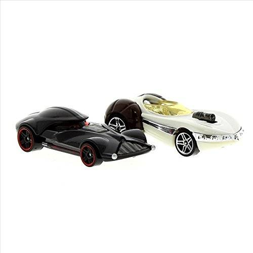 Mattel Star Wars Hot Wheels Pack 2 Coches