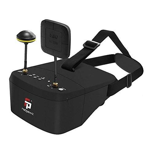 REDPAWZ EV800 Pro 5.8G 40CH Diversity FPV Goggles 5 Inch 854 X 480 Video Headset Built-in Battery with DVR