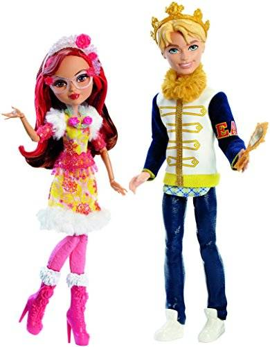 Ever After High DLB38 Daring Charming and Rosabella Beauty Dolls, Epic Winter by Ever After High