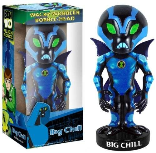 FunKo Ben 10 Funko Wacky Wobbler Bobblehead Figure Big Chill by Funko