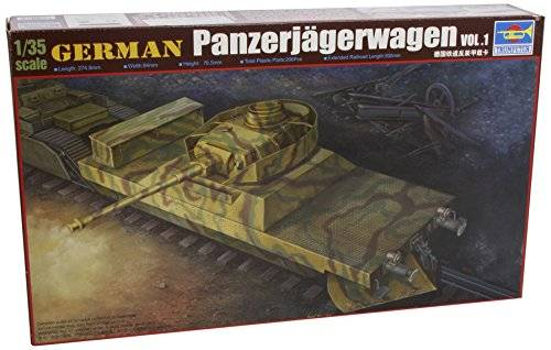 Trumpeter 750368 German Panzerjagerwagen with Panzer IV turret. Vol.1 escala 1:35