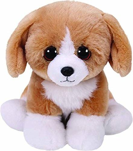 TY - Hund Braun/Weiß 15cm Babies Franklin Peluche perro, color marrón (United Labels Ibérica 42269TY)