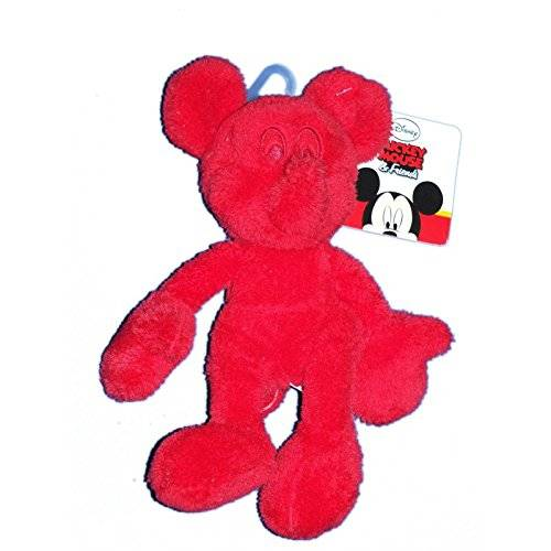 Nicotoy Doudou peluche Mickey Mouse and Friends rojo–Nicotoy Simba–587/9229