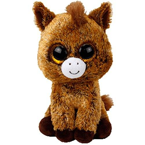 Ty Beanie Boos Harriet, Peluche Caballo, 15 cm (United Labels Ibérica 36842TY)