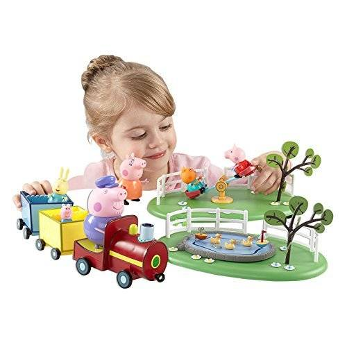 Character Options Peppa Pig Fun In The Park Deluxe Playset