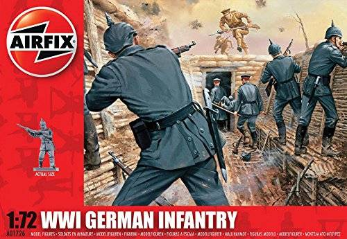 Airfix - WWI German infantry, set de figuras (Hornby A01726)