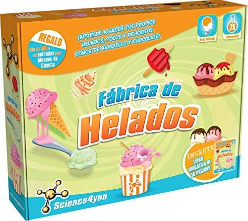 Science4you - Fábrica de helados, juguete educativo y científico (488318)